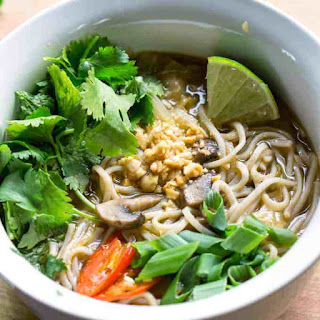 Feel Better Pho: Cold Relief Veggie Noodle Soup Recipe