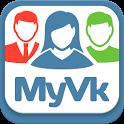 MyVk Гости и Друзья Вконтакте icon