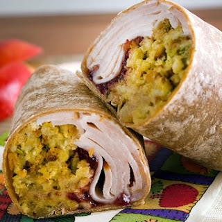 Turkey Dinner Wrap