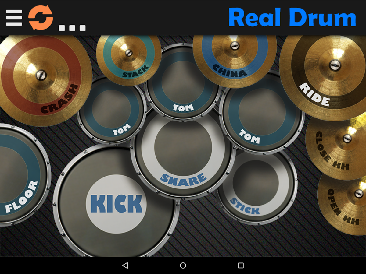 Screenshots of Real Drum for iPhone