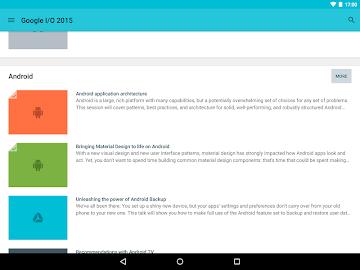 Google I/O 2015 Screenshot 10