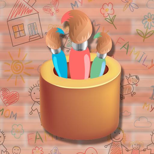 教育のグローキッズペイントアート LOGO-記事Game
