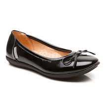 Step2wo New Cilla - Patent Slip On SCHOOL SHOES