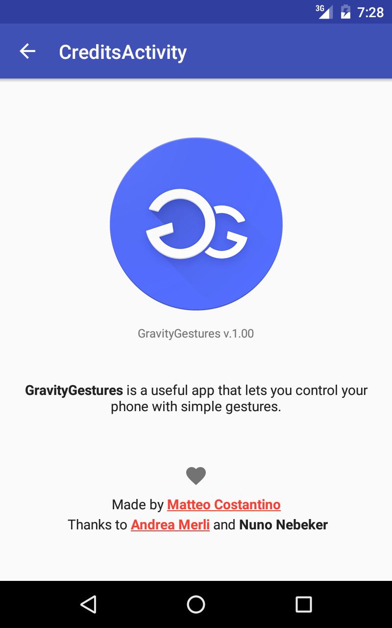 Gravity Gestures Screenshot 9