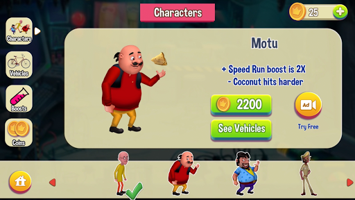 Motu Patlu Game  captures d'écran 2