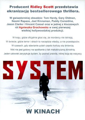 Tył ulotki filmu 'System'