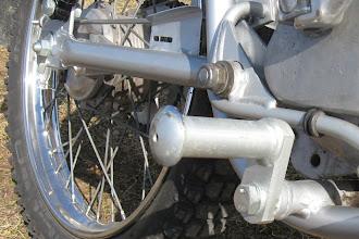 Photo: Tunturi Trial 79 metalliset jalkatapit