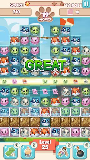 Lovely Pets PRO: Match 3  screenshots 9