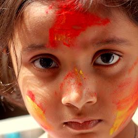 Surprised by Swarup Roy Chowdhury - Babies & Children Children Candids