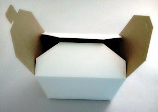 Photo: Mini Caixa (28) - Protótipo sem impressão (detalhe na abertura)