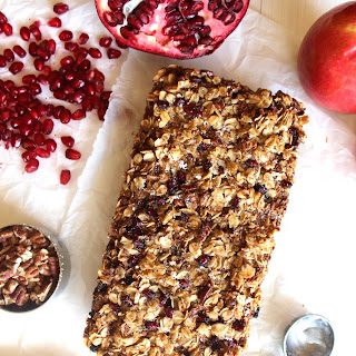 Pomegranate Apple Coffee Cake