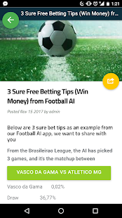 Football Chat AI - Betting Tips - náhled