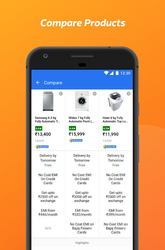 Flipkart Online Shopping App screenshots