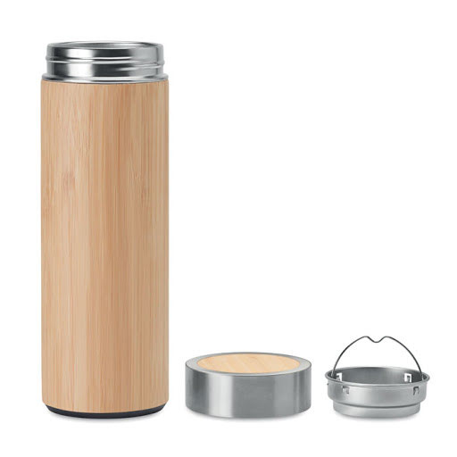 Promotional Bamboo Vacuum Flask