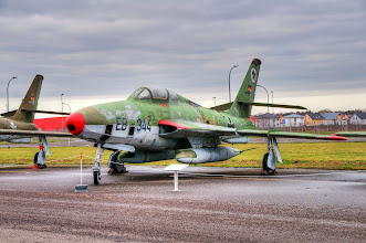 "Photo: RF-84F ""Thunderflash"""