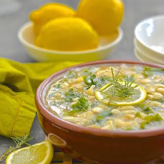 Lemon Kale & White Bean Stew