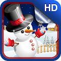 Cute Snowman Live Wallpaper HD APK