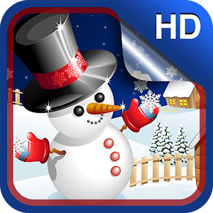 download Cute Snowman Live Wallpaper HD apk