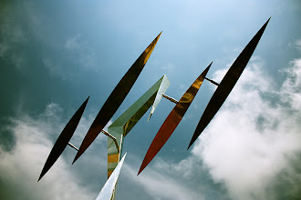 "Photo: Spread Your Wings | Sculpture ""Wings"" by Lin Emery"