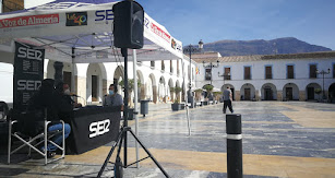 El programa se emitió desde la Plaza Porticada.