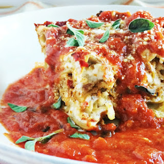 9 Vegetable Lasagna [Vegan, Gluten-Free]