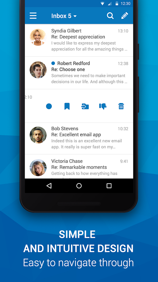 Email App for Any Mail- screenshot