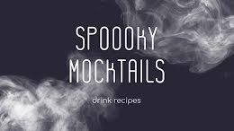 Spooky Mocktails - Halloween item