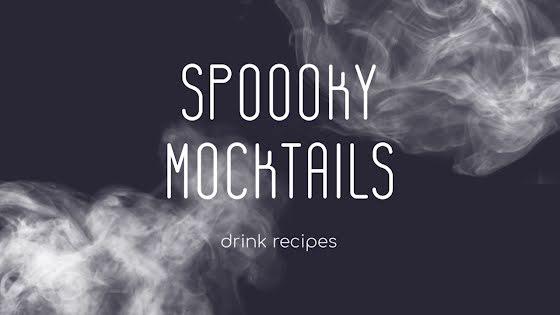 Spooky Mocktails - Halloween Template