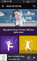Screenshot of Nhac.vn Viettel -Nghe tải nhạc