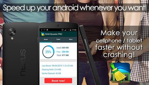 优化和加速智能手机 RAM Booster Free