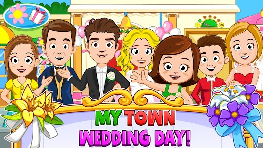 My Town : Wedding MOD (Paid Characters Purchased) 1