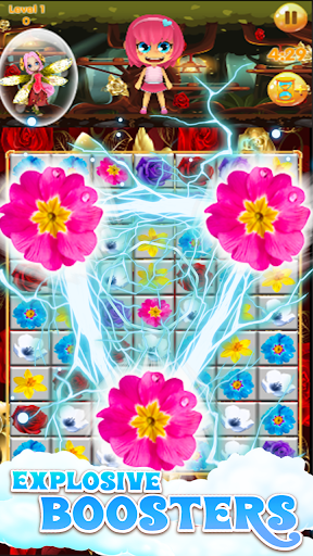 Flowers Blast - flower games 1.14 screenshots 11