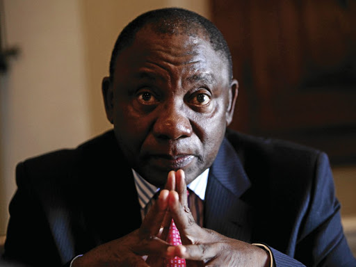 Cyril Ramaphosa. Picture: FINANCIAL MAIL