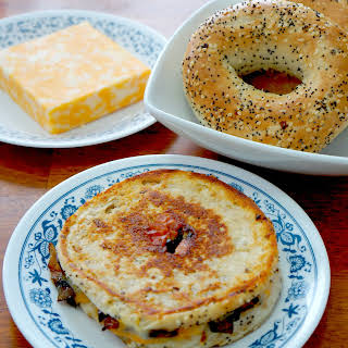Everything Bagel Grilled Cheese.