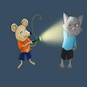 flashlight animal icon