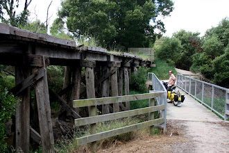 Photo: Year 2 Day 154 -  Old Tressle Bridge on the Rail Trail from Fish Creek to Foster