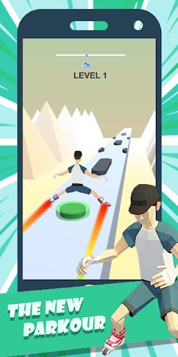 Urban Parkour - Smashing Roller Game 1.0.3 screenshots 1
