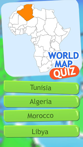 World Map Quiz Geography Game ss3