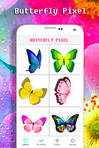 Butterfly Coloring Book - Color By Number apkdebit screenshots 1