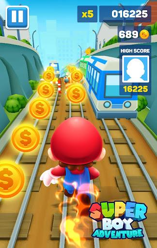 Subway Boy Runner - Super Boy Odyssey Adventure  captures d'u00e9cran 2