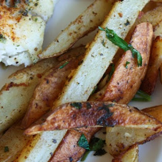 Baked Old Bay Fries.