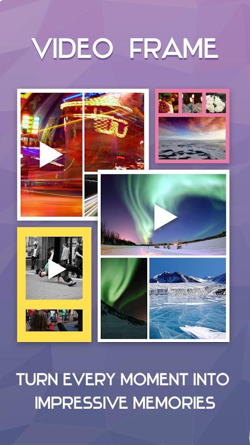video frame collage maker screenshot
