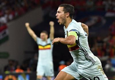 Les premiers gestes d'Eden Hazard pour FIFA 17 (vidéo)