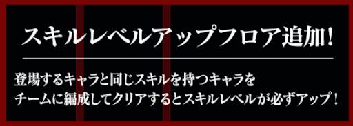 fateスキルレベルアップ