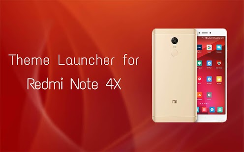 Launcher for Redmi Note 4x - náhled