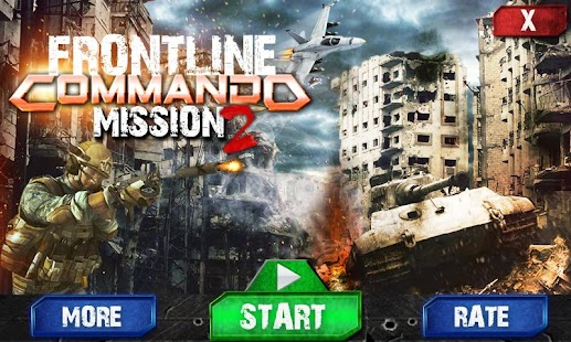 Frontline Commando Missions 2 - náhled