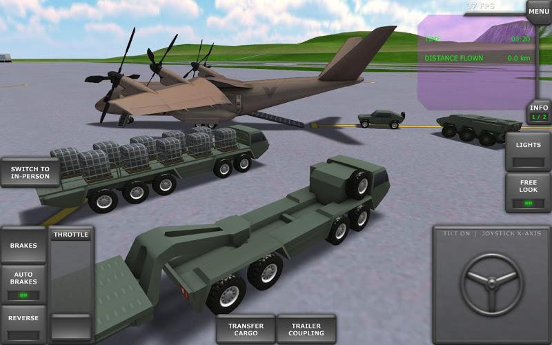 Turboprop Flight Simulator 3D Screenshot 13