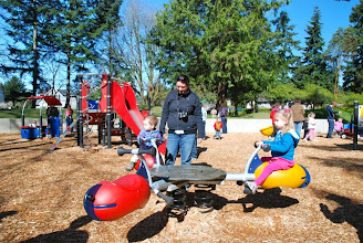 Photo: 2012 egg hunt and park playground and spray - 38