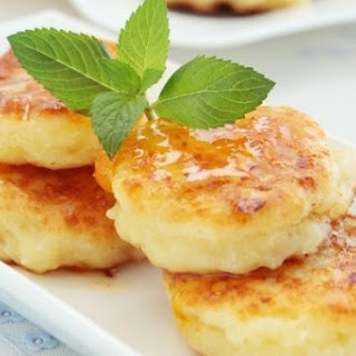 Cheesecakes With Bran From The Oven.