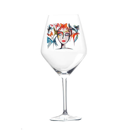 Slice of Life, vinglas - Carolina Gynning